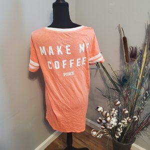 NWOT PINK Victoria's Secret Sleep Shirt